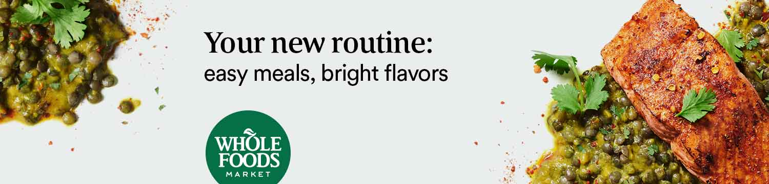 Your new routine: easy meals, bright flavors