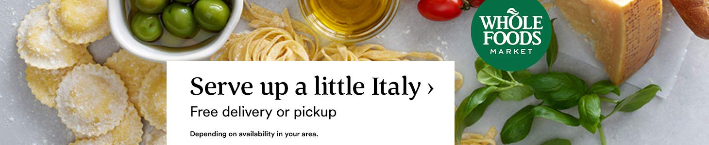 Serve up a little Italy › Free delivery or pickup. Depending on availability in your area.