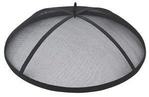 Landmann USA 28240 Halo Fire Pit - Spark Guard and Poker included Provides 360 degree view of fire Large handle for easy transport - patio, outdoor-decor, fire-pits-outdoor-fireplaces - HALOSPARKGUARD. V400442239  -