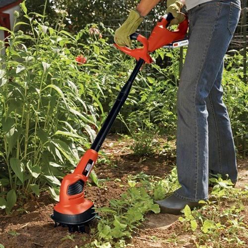 Electric Garden Cultivator Tiller Hand Small Cordless Best