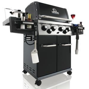 Broil King 956187 Regal 490 Natural Gas Grill with Side Burner and Rear Rotisserie Onward Manufacturing