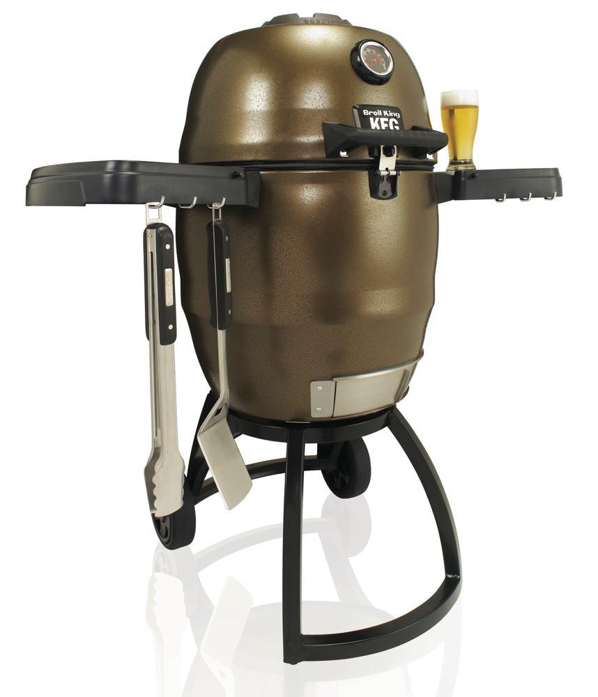 Amazon.com: Broil King Steel Keg BKK4000 Charcoal Grill