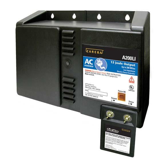 Amazon Com Zareba A200li 200 Mile Ac Low Impedance Fence