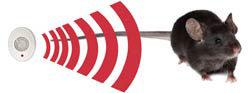 Mini PestChaser Ultrasonic Rodent Repellent - Ultrasonic Waves