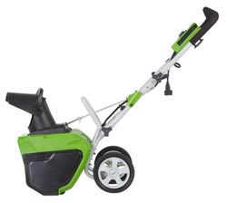Greenworks 20-Inch 12 Amp Electric Snow Thrower