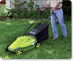 Sun Joe Mow Joe MJ403E 17-Inch Electric Lawn Mower with Grass Bag