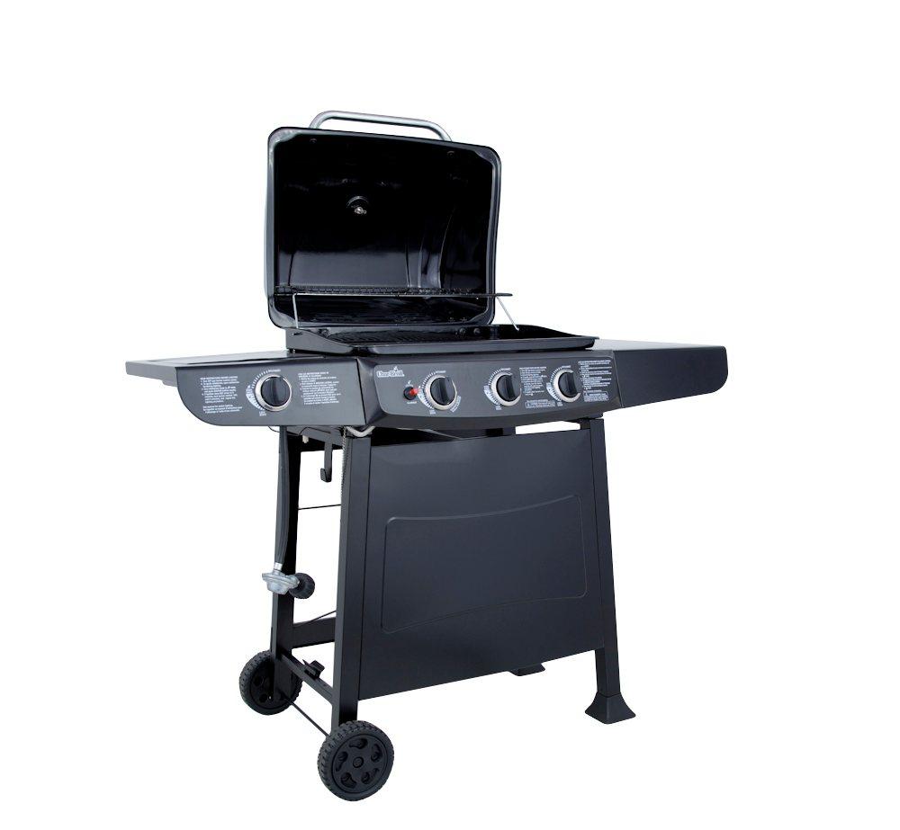 char broil quickset 3 burner gas grill freestanding grills garden outdoor. Black Bedroom Furniture Sets. Home Design Ideas