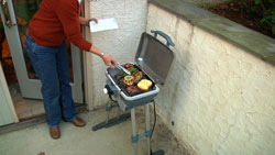 Patio grilling
