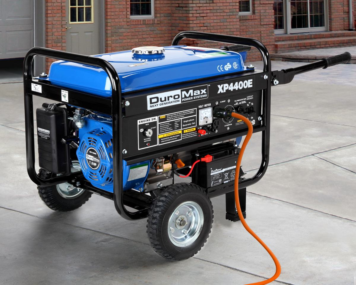 Amazon Com Duromax Xp4400e 4 400 Watt 7 0 Hp Ohv 4 Cycle