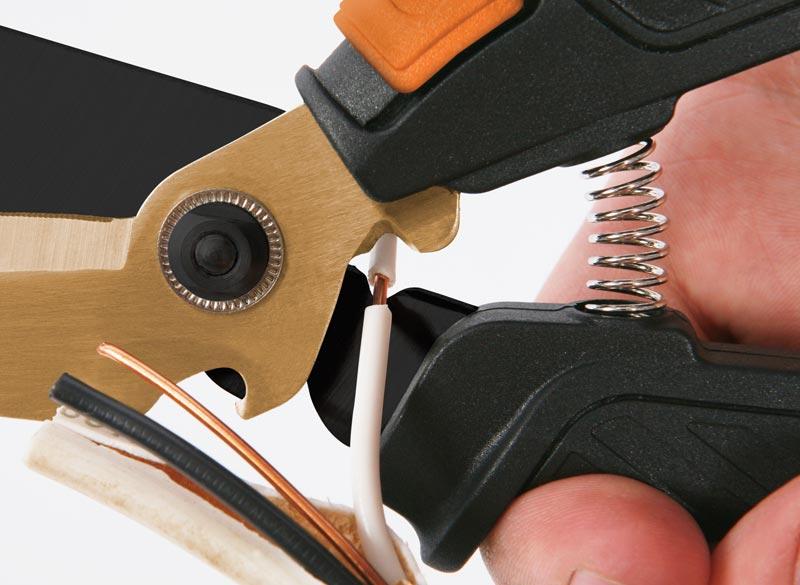 Amazon Com Fiskars Shop Boss Hardware Snip Multipurpose