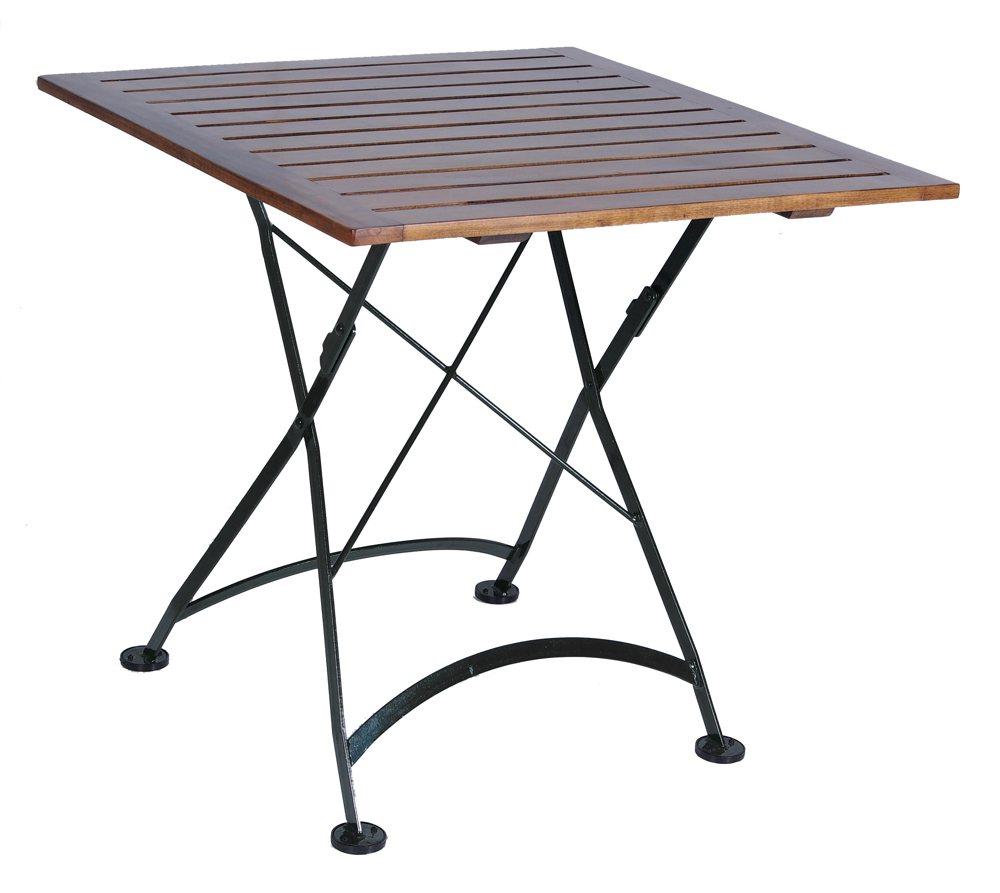 Furniture DesignHouse French Caf Bistro Folding Table Jet Black