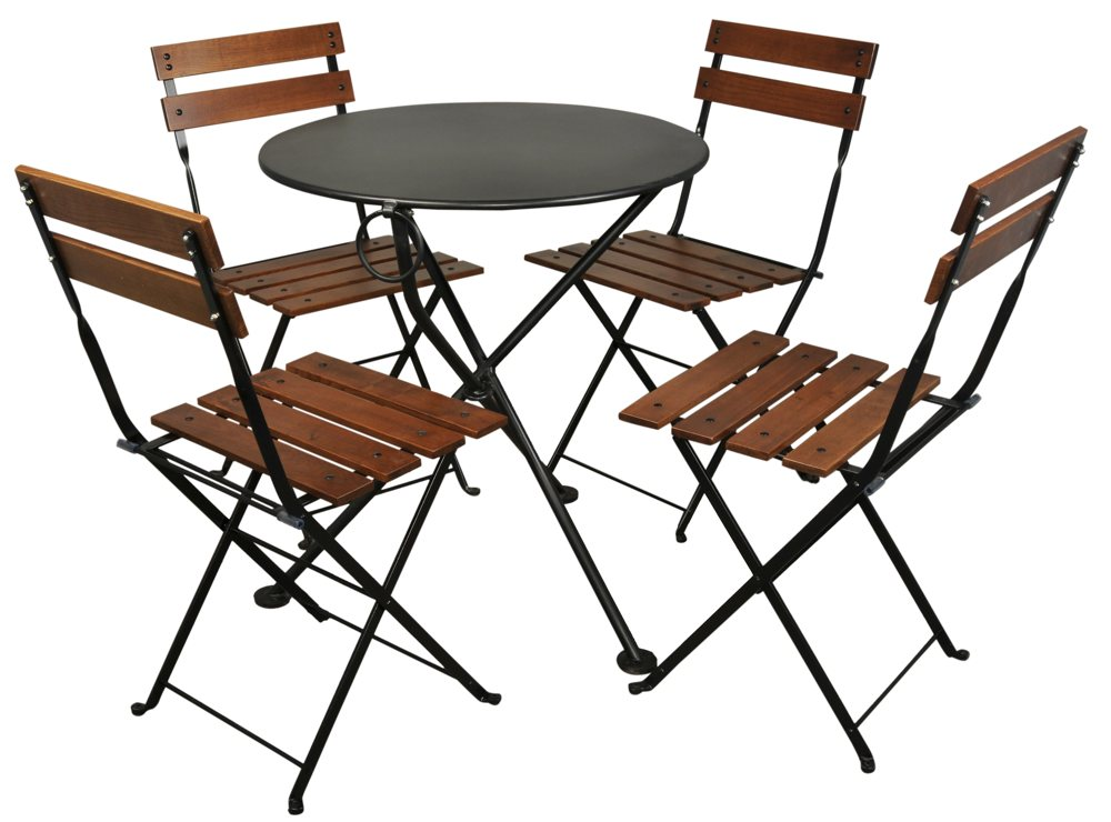 Amazon Furniture DesignHouse French Café Bistro 3 leg Folding Bistro Ta
