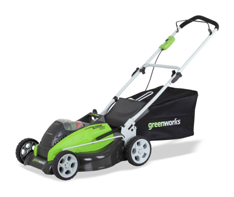 Amazon.com : GreenWorks 25242 40-Volt 4 Amp-Hour Lithium ...