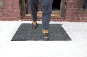 Prevent Snow And Ice Accumulation Where Slips And Falls Happen Most: Outside  The Front Door.
