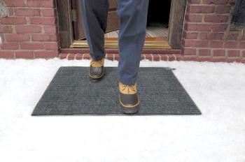 Heattrak hcm24 3 carpeted snow melting door for Best doormat for snow