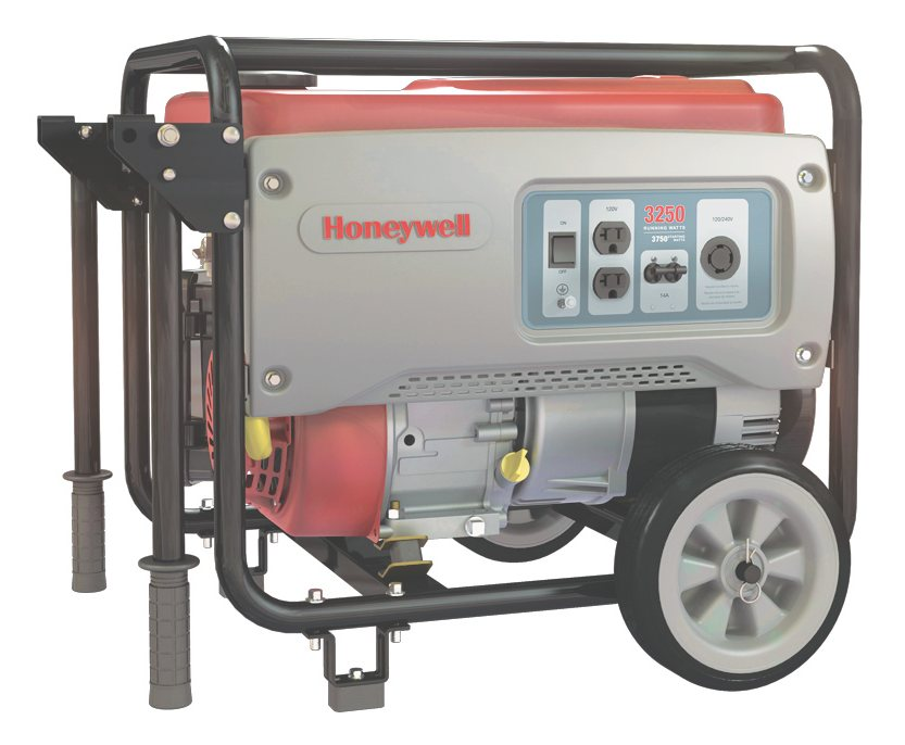 Honeywell 6150 3,250 Watt 208cc OHV Portable Gas Powered Generator on