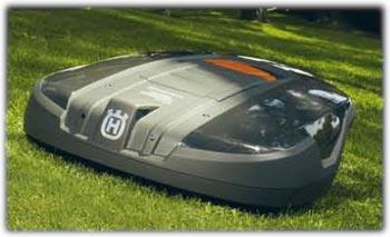 husqvarna 220 ac 8 7 inch 1 2 acre cordless electric robotic automower walk. Black Bedroom Furniture Sets. Home Design Ideas