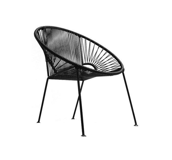 Amazoncom Innit Designs Concha Chair Grey Weave On