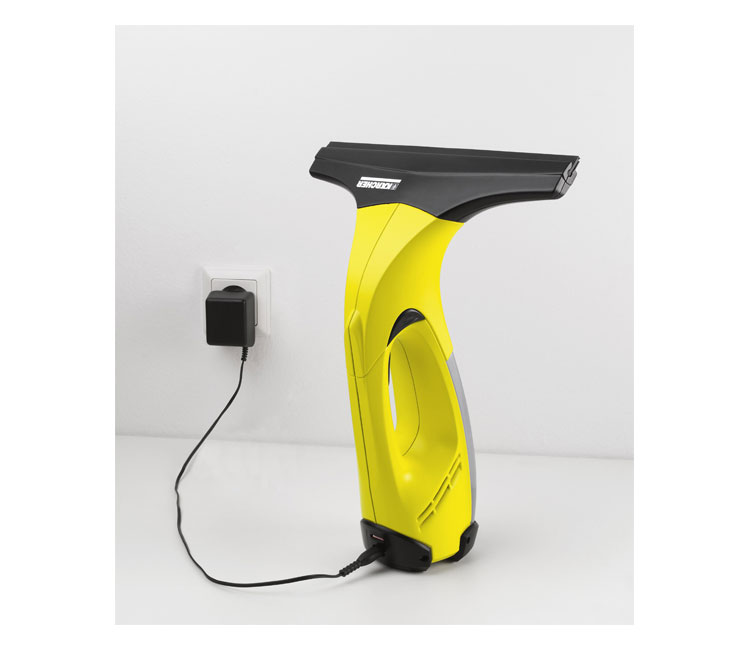 karcher window vac charging instructions