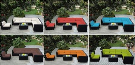 Nice Cushions Are Available In A Variety Of Colors.