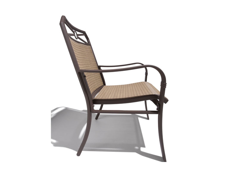 Amazon Strathwood Rawley Sling Chair Set of 2 Patio Dining Chairs