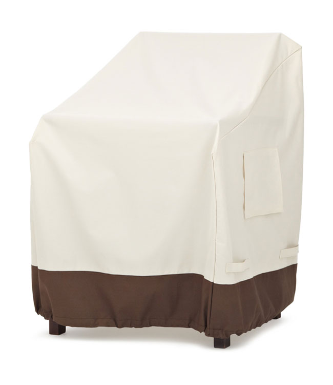 Strathwood Dining Arm Chair Furniture Cover Set Of 2 Patio Chair Covers Garden