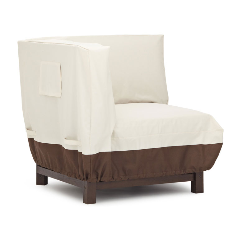 Strathwood sectional corner lounge chair for Furniture covers