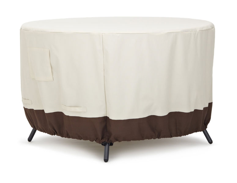 Amazon.com: Strathwood Round Dining Table Furniture Cover, 48-Inch ...