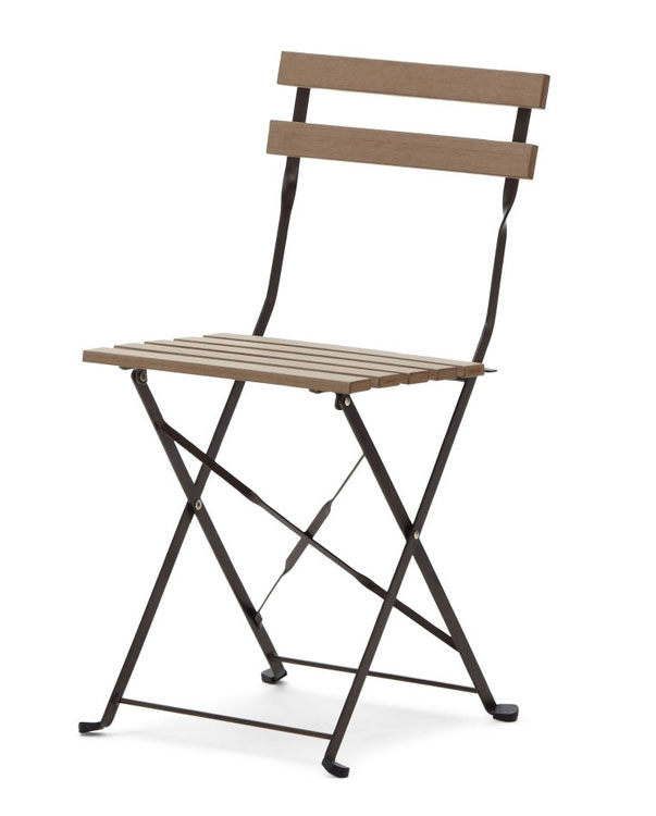 Strathwood Basics Bistro Set Brown Patio Furniture