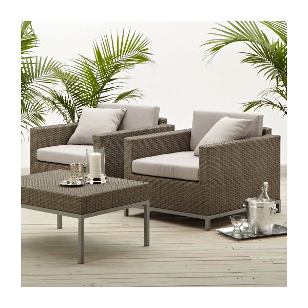 Strathwood Paden All Weather Wicker Lounge Chair Patio Furniture Sale