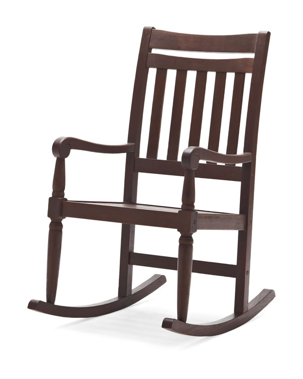 Amazon Com Strathwood Redonda Hardwood Rocking Chair