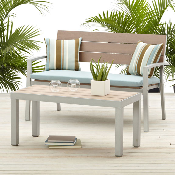 Strathwood Brook 2 Seater Bench Patio Furniture