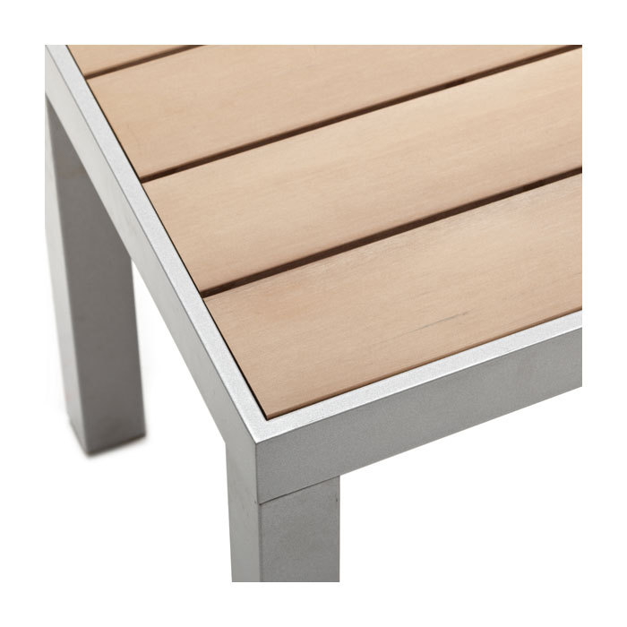 Strathwood brook table basse de jardin jardin for Table basse en aluminium
