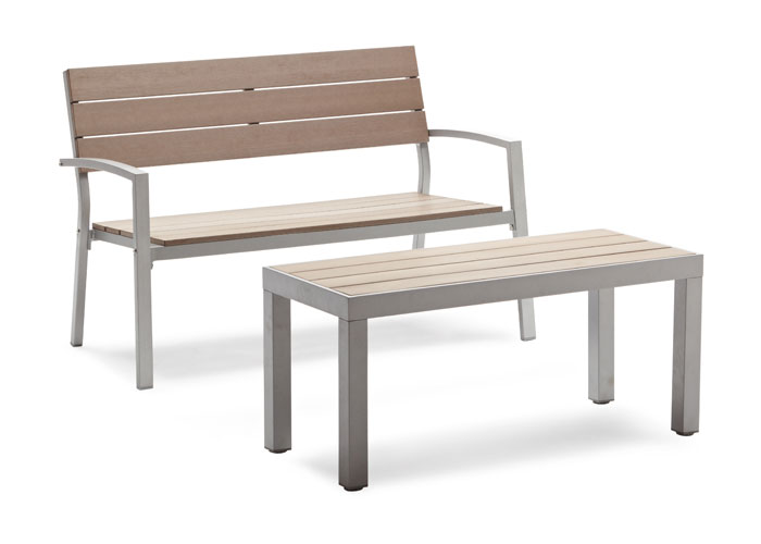 Strathwood Brook Coffee Table Patio Furniture