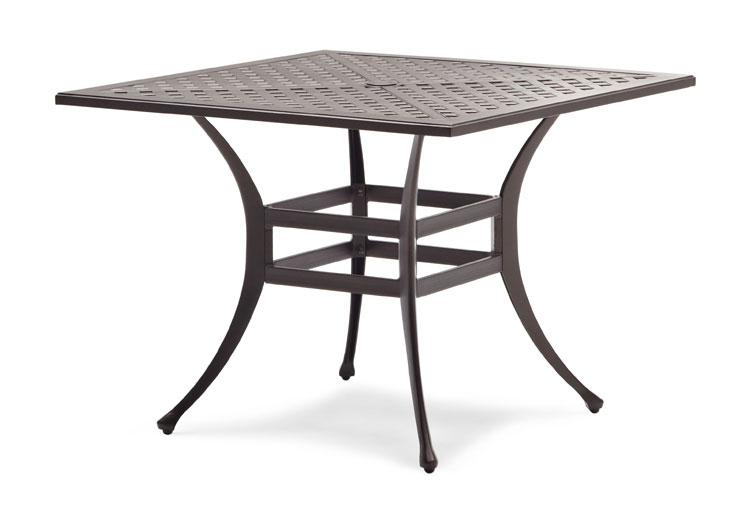 Strathwood Bainbridge Cast Aluminum Dining Table Buy Patio Furniture