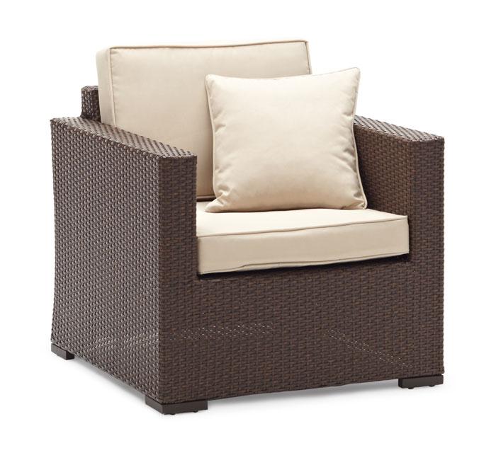 Amazon Strathwood Griffen All Weather Wicker Chair Dark Brown Patio