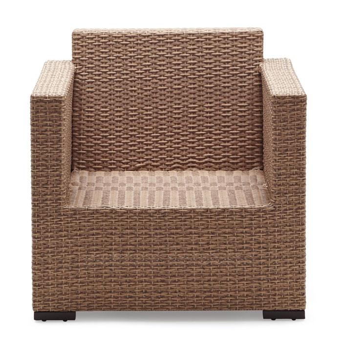 strathwood griffen wetterfester loungesessel aus korbgeflecht natur. Black Bedroom Furniture Sets. Home Design Ideas