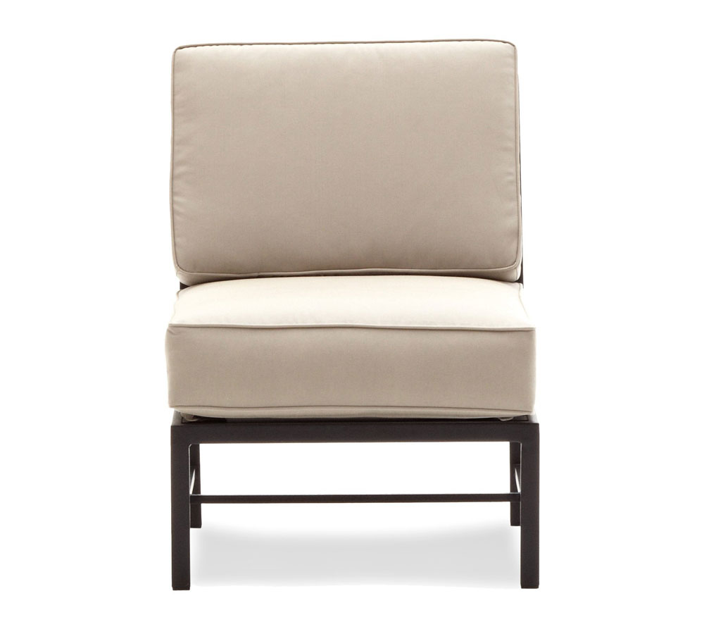 Amazon Com Strathwood Rhodes Sectional Armless Chair