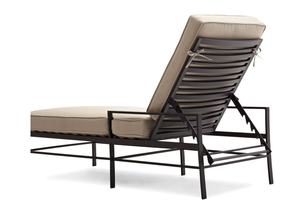 Strathwood Rhodes Chaise Lounge Chair Patio Lawn Garden