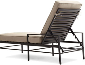 Strathwood rhodes chaise lounge chair garden for Ava chaise lounge