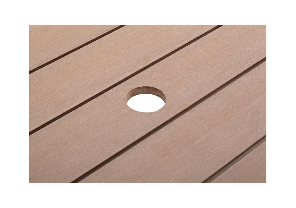 Gartenmobel Rattan Fur Kleinen Balkon : Mit Schirmloch für eine optionale Verwendung mit einem Standard