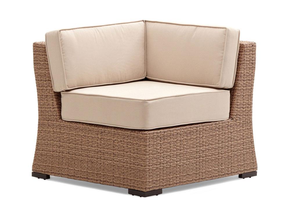 strathwood gartenm bel griffen wetterfestes ecksessel element aus polyrattan. Black Bedroom Furniture Sets. Home Design Ideas