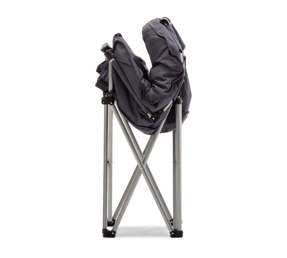 Amazon Strathwood Basics Polyester Padded Club Chair Gray – Folding Padded Lawn Chairs