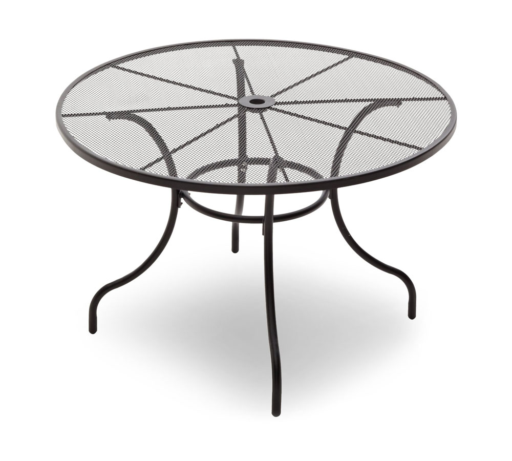 Amazon Com Strathwood Basics Steel Mesh Dining Table