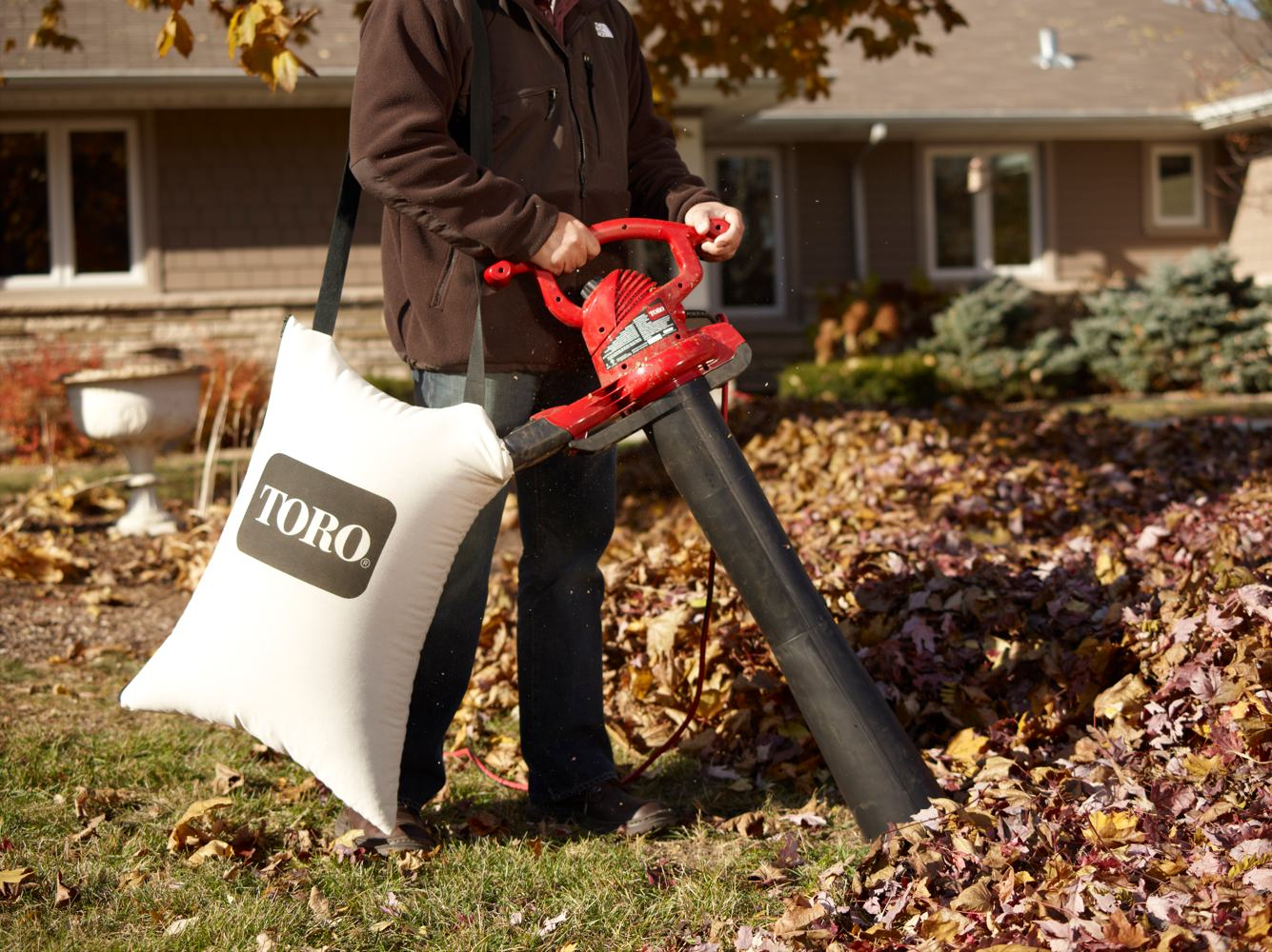 Leaf Blower Vac Vacuum Shredder Wood Grass Garden Winter