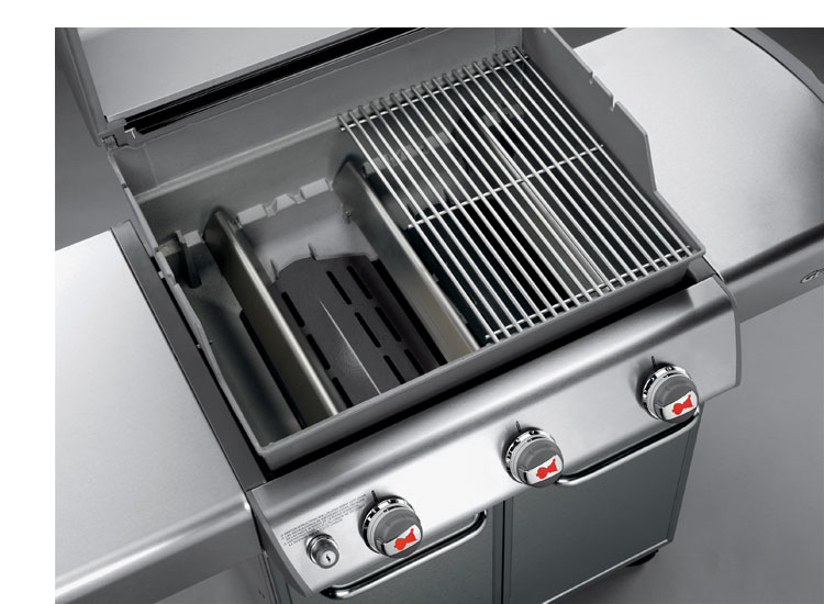 Weber Genesis S 310 >> Amazon.com : Weber Genesis 6650001 S-310 Stainless-Steel 637-Square-Inch 38, 000-BTU Natural-Gas ...