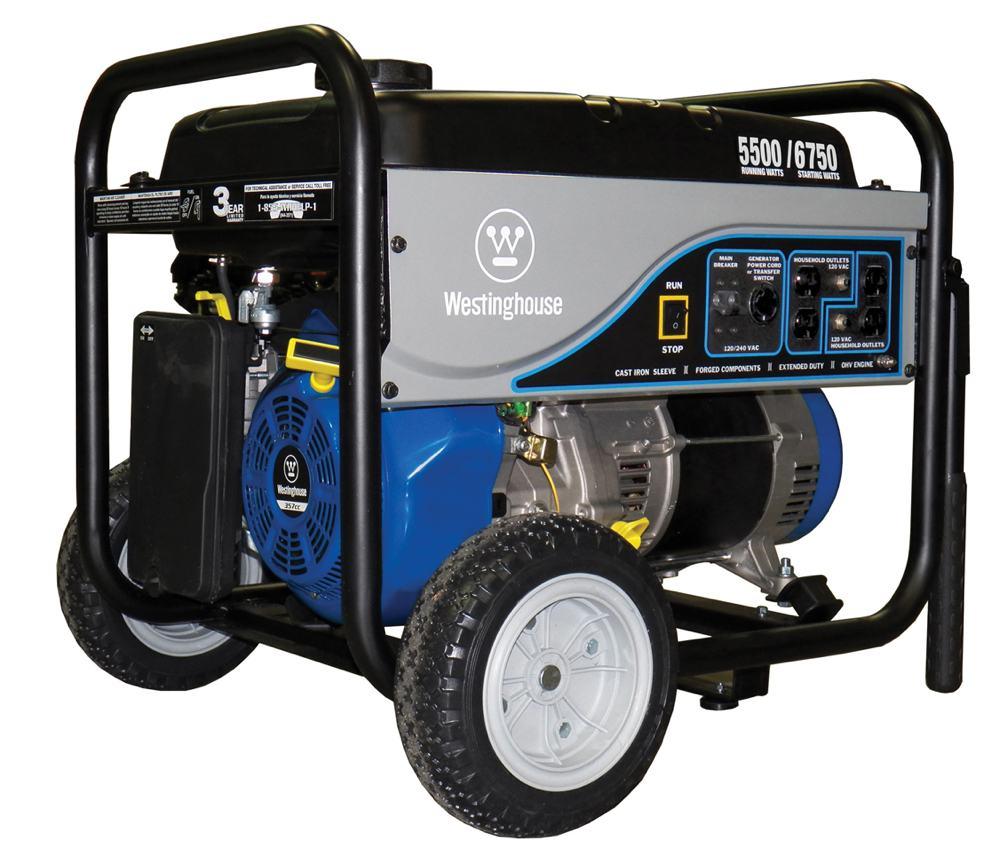 Westinghouse Wh5500 Portable Powergen