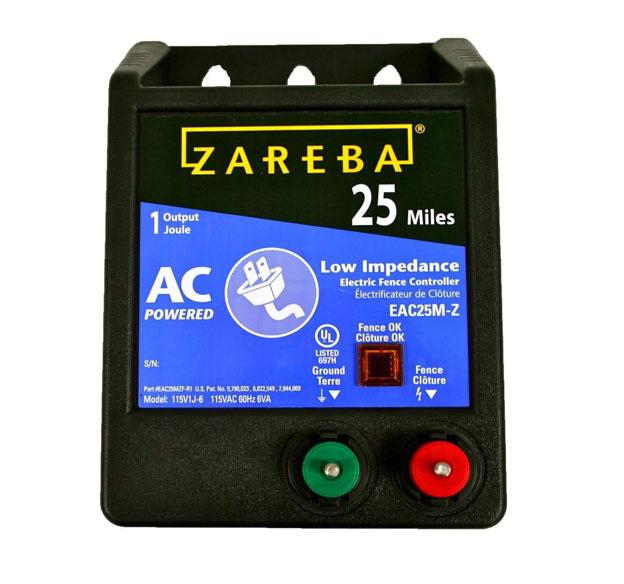 Amazon Com Zareba Eac25m Z Ac Powered Low Impedance 25