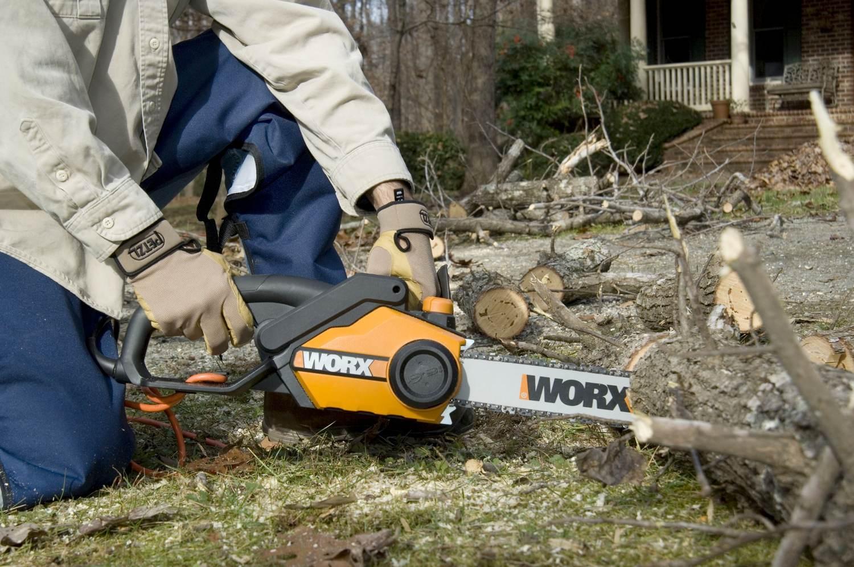Amazon Com Worx Wg304 1 Chain Saw 18 Inch 4 15 0 Amp