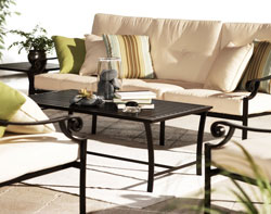 amazon com strathwood falkner lounge patio furniture collection